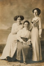 Harriet Doble to the right possibly
